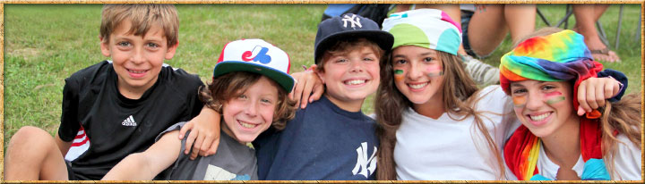Kids at Camp Birchmont